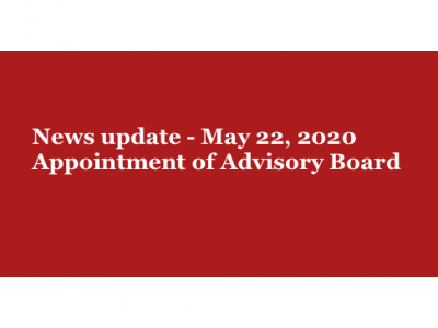 Appointment of AFC Advisory Board